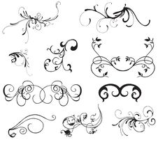 Free Design Elements Royalty Free Stock Images - 6741069