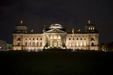 Free Berlin Reichstag Royalty Free Stock Photography - 6741097