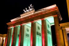 Free Berlin Brandenburger Tor Stock Image - 6741461