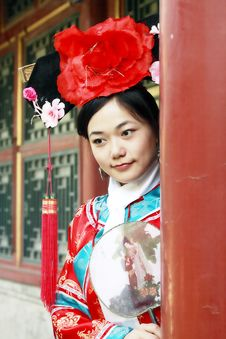 Free Classical Beauty In China. Royalty Free Stock Photos - 6741628