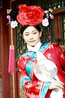 Free Retro Beauty In China. Stock Photos - 6741683
