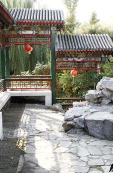 Free China S Long Corridor Stock Photos - 6741903