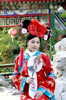 Free Classical Beauty In China. Royalty Free Stock Photos - 6742078