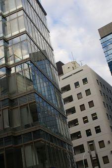 Tokyo Building 4 Stock Photo