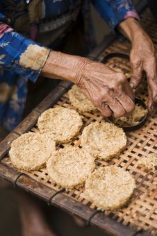 Free Homemade Rice Cookies Royalty Free Stock Image - 6743096