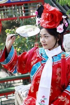 Free Retro Beauty In China. Royalty Free Stock Photo - 6743395