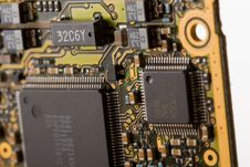 Free Circuit Board Royalty Free Stock Photos - 6743598