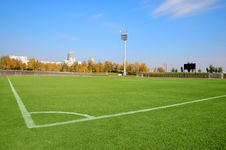 Free Stadium Over A Blue Sky Royalty Free Stock Image - 6744336