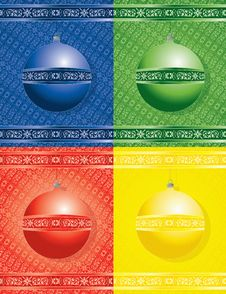 Free Christmas Balls Royalty Free Stock Images - 6744549