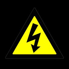 Free Danger High Voltage Stock Image - 6745361