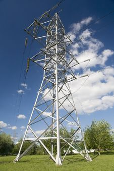 Free High-power Lines Royalty Free Stock Photos - 6745388