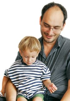 Free Father And Son Royalty Free Stock Photography - 6745857