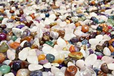 Free Semi Precious Stones. Stock Images - 6745984