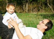 Free Father And Son Portrait Royalty Free Stock Photo - 6745985