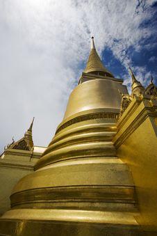 Free Phra Sri Rattana Chedi 02 Stock Image - 6746571