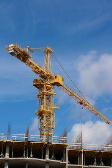 Free Working Crane Royalty Free Stock Photos - 6747098