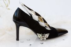 Free Sexy Christmas Stilettos With Clipping Path Royalty Free Stock Photos - 6747758