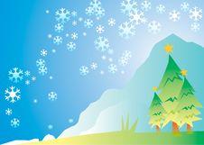 Free Illustration Christmas Tree Stock Photo - 6747990