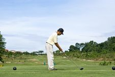 Free Golf Swing Stock Images - 6748314
