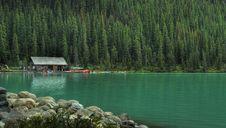 Free Cabin Lake Canoe Rentals Royalty Free Stock Image - 6748336