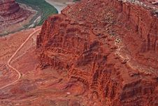 Free Red Rock Erosion Royalty Free Stock Images - 6748379