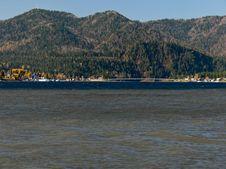 Free Landscape On Lake Teletskoe Royalty Free Stock Images - 6748439
