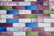 Colorful Stone Pavement Stock Photography
