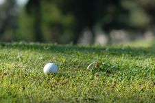 Free Golf Ball Royalty Free Stock Photography - 6748807
