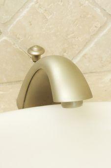 Free Close-up Of Sink Faucet Stock Photos - 6749363