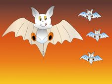 Free Lovely Bats Royalty Free Stock Photos - 6749478