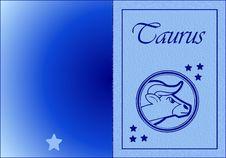 Free Taurus Card Royalty Free Stock Photos - 6749728