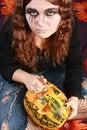 Free Gorgeous Halloween Girl Royalty Free Stock Photo - 6751855