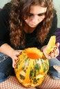 Free Gorgeous Halloween Girl Stock Images - 6751884