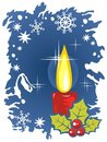 Free Christmas Candle Royalty Free Stock Photo - 6752795
