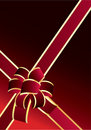 Free Red Bow Royalty Free Stock Photography - 6755677