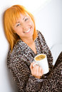 Free Woman With Coffee Royalty Free Stock Image - 6756746