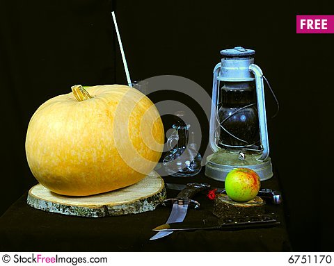 Free Still Life Picture Of Halloween Prepare Stock Photo - 6751170