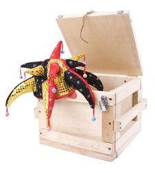 Free Wood Harlequin Box Stock Photos - 6750243