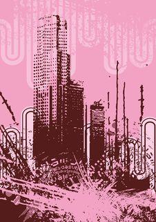 Free Urban Grunge Background Stock Photography - 6750662