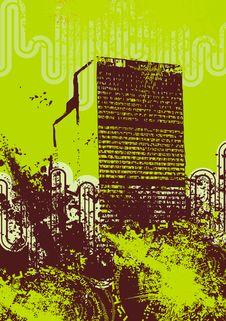 Free Urban Grunge Background Royalty Free Stock Images - 6750679