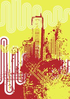 Free Urban Grunge Background Royalty Free Stock Photo - 6750695