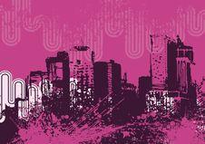 Free Urban Grunge Background Royalty Free Stock Images - 6750699