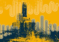 Free Urban Grunge Background Stock Photography - 6750802