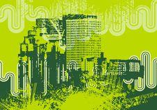 Free Urban Grunge Background Royalty Free Stock Photography - 6750807