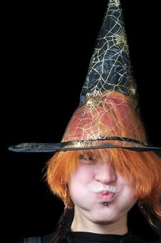 Free Redhair Scarecrow Royalty Free Stock Image - 6751216