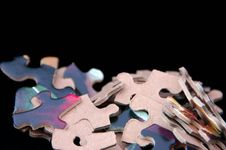 Free Jigsaw Pieces Royalty Free Stock Images - 6751459
