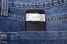Free Camera In Jeans Pocket Stock Images - 6751664