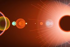 Free Red Solar Stock Photography - 6751802