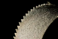 Free Dusty Old Saw Blade Stock Images - 6752114