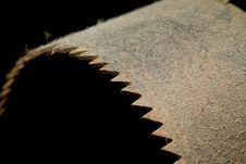 Free Dusty Old Saw Blade Royalty Free Stock Image - 6752116